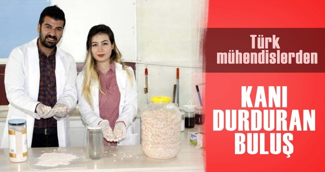 Türk kimyagerlerden kanı durduran buluş