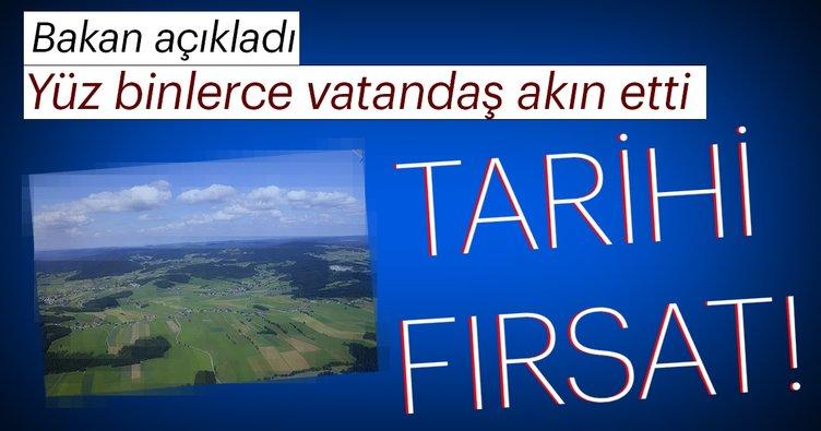 Bakan açıkladı! 180 bin çiftçi tarihi fırsattan yararlanmak için başvurdu