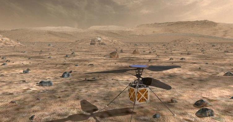 NASA'dan çılgın plan! Mars'a helikopter gönderiyorlar...