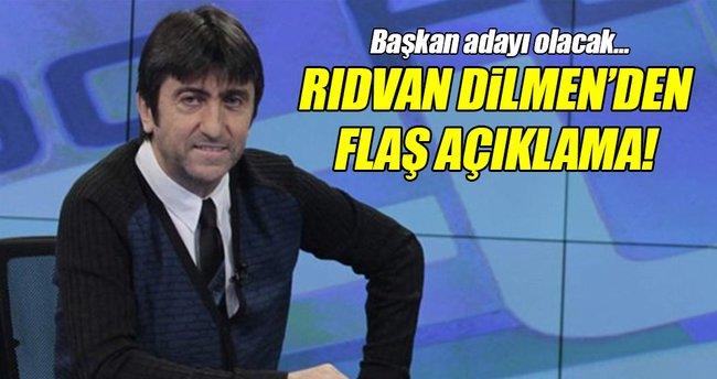 Rıdvan Dilmen, TFF'ye başkan adayı oldu!
