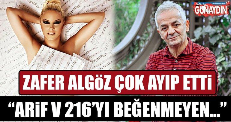 Zafer Algöz, Ayça Tekindor'a ayıp etti