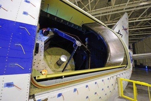 Dev teleskobu taşıyacak