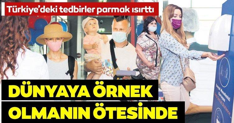 Türkiye'deki koronavirüs tedbirleri parmak ısırttı