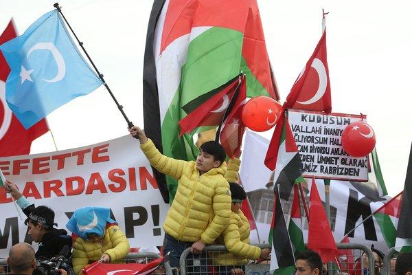 Kudüs İslam'ındır mitingi başladı