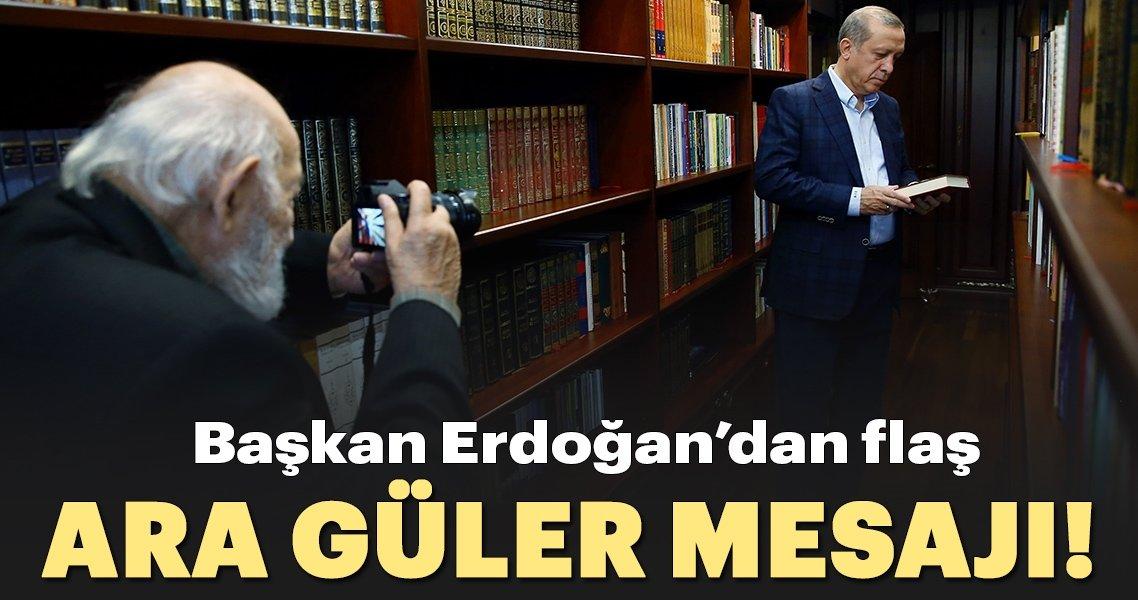 Başkan Erdoğan'dan Ara Güler mesajı!