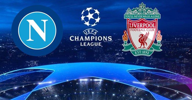 Napoli Liverpool maçı ne zaman, saat kaçta ve hangi kanalda canlı izlenecek? Dev maç öncesi son bilgiler...