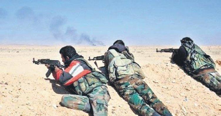 DEAŞ'tan rejim askerlerine pusu