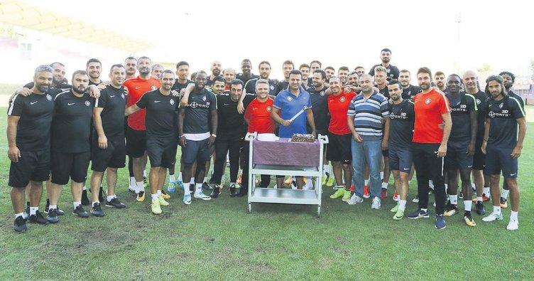 Osmanlıspor'da turnuva hazırlığı