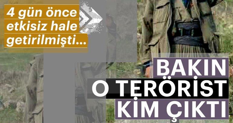 Etkisiz hale getirilen PKK'lı terörist örgütün bombacısı çıktı