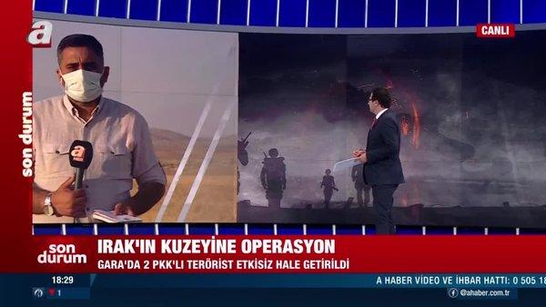 SON DAKİKA: Irak'ın kuzeyine operasyon! 2 PKK'lı terörist etkisiz hale getirildi | Video