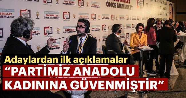 Ak Parti belediye başkan adaylarından açıklamalar