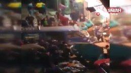 Mısır'da minibüs AVM'ye çarptı: 5 yaralı   Video