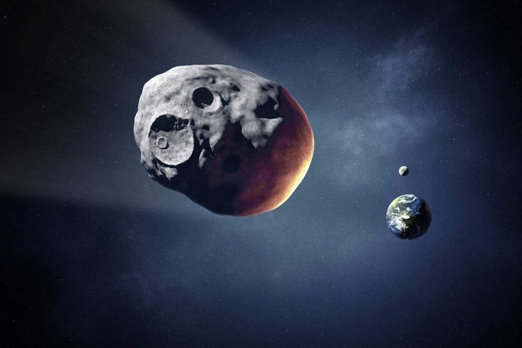 Dev asteroit Dünya'ya yaklaşıyor!