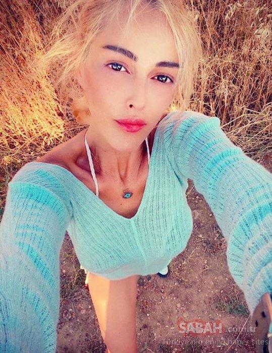 Helin Avşar mayosuyla amuda kalktı sosyal medya yıkıldı! Hülya Avşar'ın kız kardeşi Helin Avşar'ın aşırı zayıflığı dikkatlerden kaçmadı!