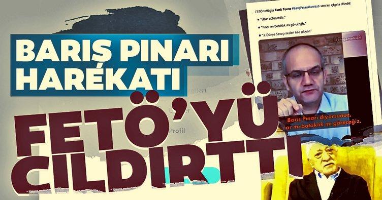 Barış Pınarı Harekatı FETÖ'cü hainleri rahatsız etti