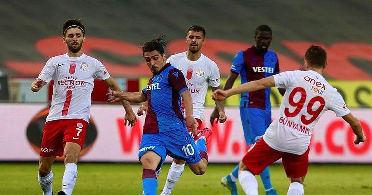 Trabzonspor evinde Antalyaspor ile berabere kaldı