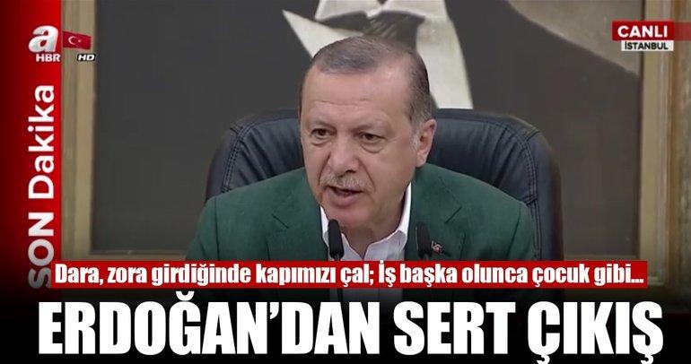 Erdoğan'dan Barzani'ye: Zora gelince kapımızı çalacaksın...
