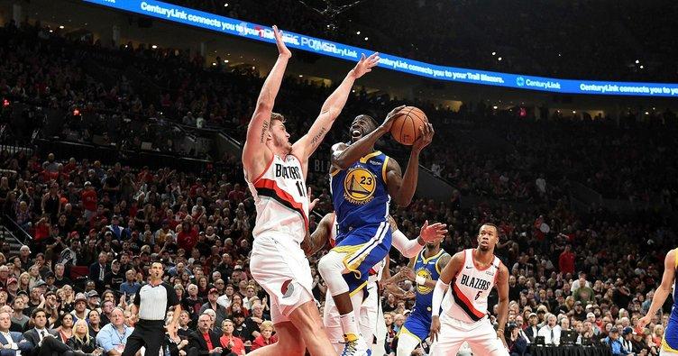 Golden State Warriors'un finale bir adımı kaldı