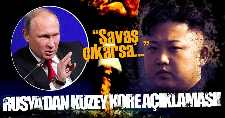 Son dakika: Rusya'dan flaş Kuzey Kore yorumu!