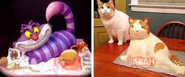 Pasta siparişi gelince gözlerine inanamadı!