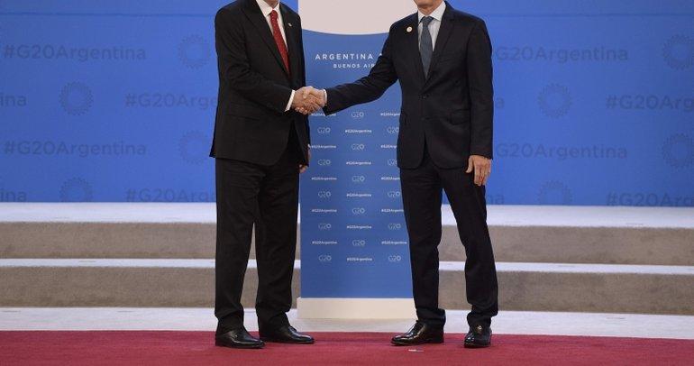G-20 zirvesinden dikkat çeken kareler!