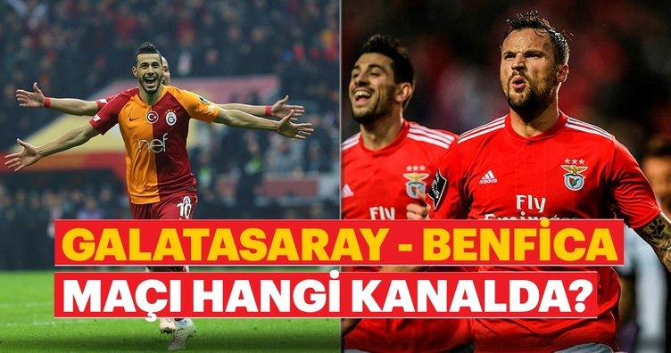 Benfica Galatasaray: Galatasaray Benfica Maçı Hangi Kanalda Saat Kaçta