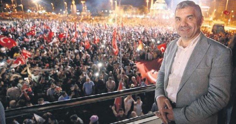 Kayseri'de demokrasi şöleni