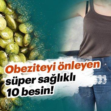 Bu süper besinler obeziteyi önlüyor!