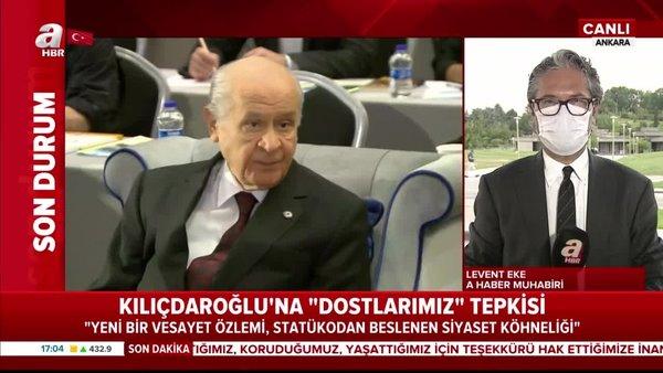 Son dakika:MHPlideri Bahçeli'denKılıçdaroğlu'na sert tepki | Video