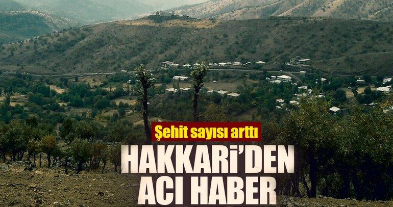 Son Dakika Haberi! Hakkari Şemdinli'de çatışma: 8 askerimiz şehit