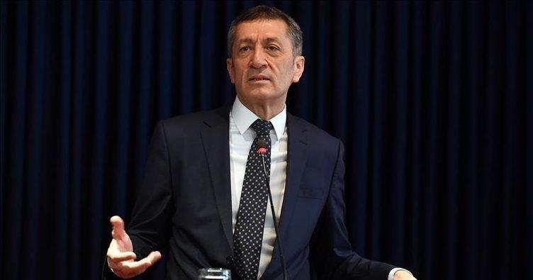 Milli Eğitim Bakanı Ziya Selçuk'tan EBA TV açıklaması