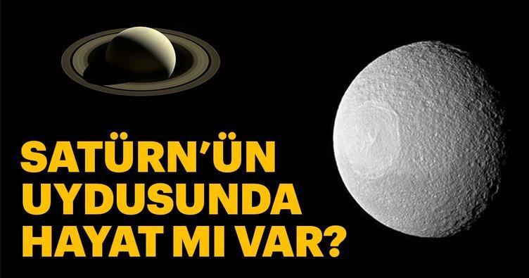 Satürn'ün uydusunda yaşam ihtimali arttı