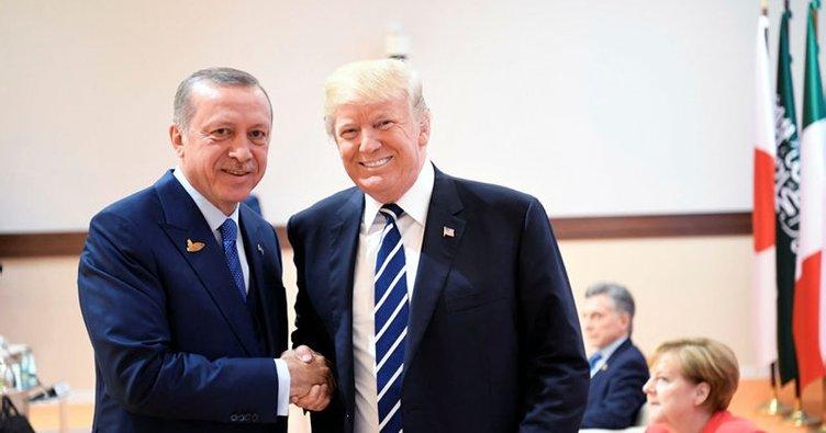 Son dakika haberi: Cumhurbaşkanı Erdoğan ve ABD Başkanı Trump, G20 zirvesinde görüştü