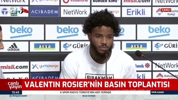 Valentin Rosier: Mbappe kadar olmasa da hızlı bir futbolcuyum