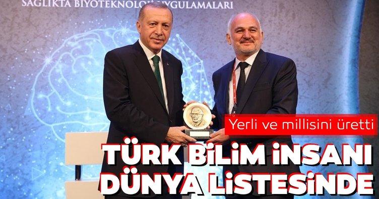 Yerli ve millisini üretti! Türk bilim insanı dünya listesinde