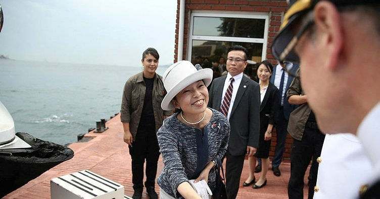 Japonya Prensesi Mikasa Osmangazi Köprüsü'nde