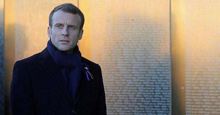 Macron'a hakaret eden şüpheli gözaltına alındı