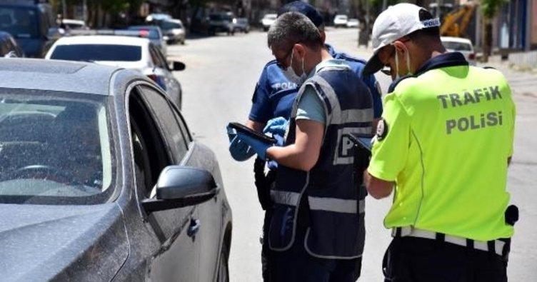 Muş'ta yasağın ilk günü polisten sıkı denetim