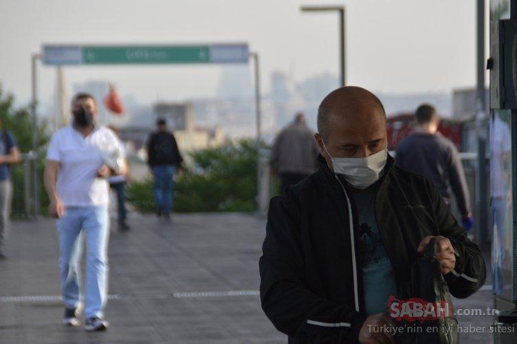 İşte 4 günlük kısıtlama sonrası İstanbul'da bu sabah!
