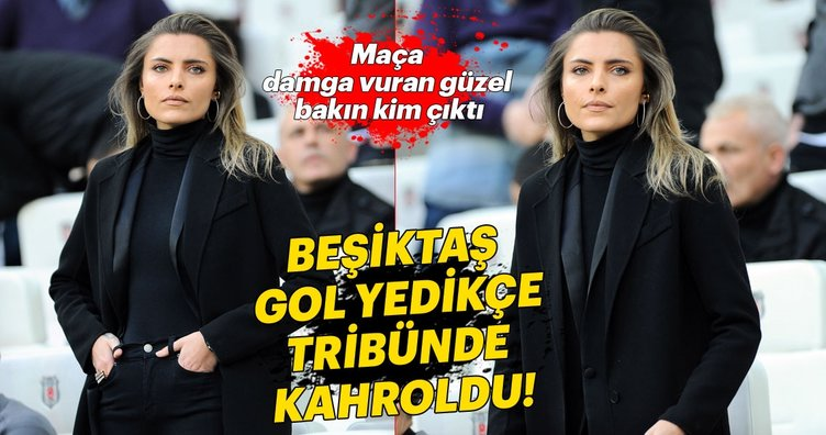 Beşiktaş - Konyaspor maçına damga vuran güzel!