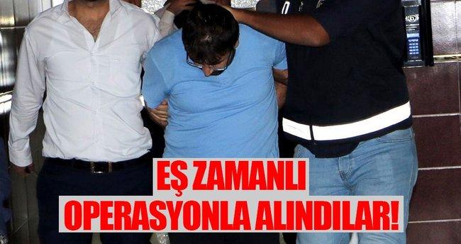 Kahramanmaraş'ta 21 kişi gözaltına alındı