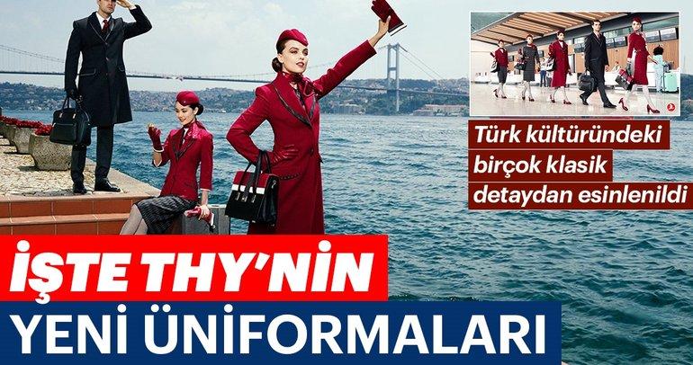 THY'nin yeni kabin üniformaları tanıtıldı