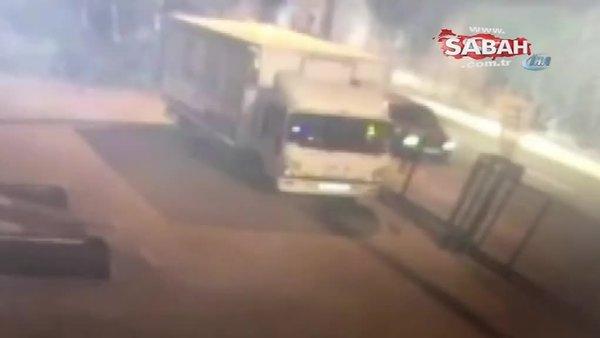 Çinli iş adamının 2,5 milyon lirasını gasp eden şahıslar kamerada