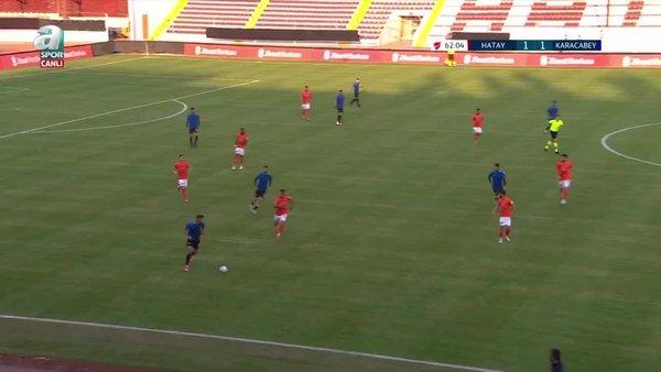 GOL | Hatayspor 1-2 Karacabey Belediyespor