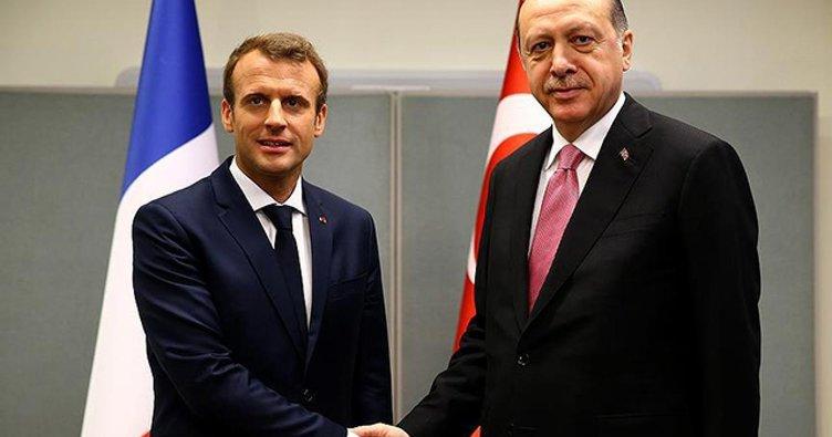 Son dakika: Başkan Erdoğan, Macron ile görüşecek