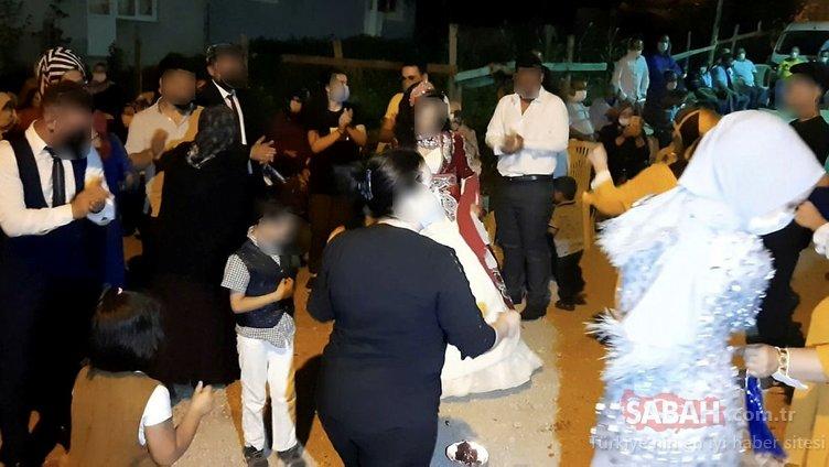 Bursa'da skandal düğün! Covid'li kaynana düğüne katılanları yaktı