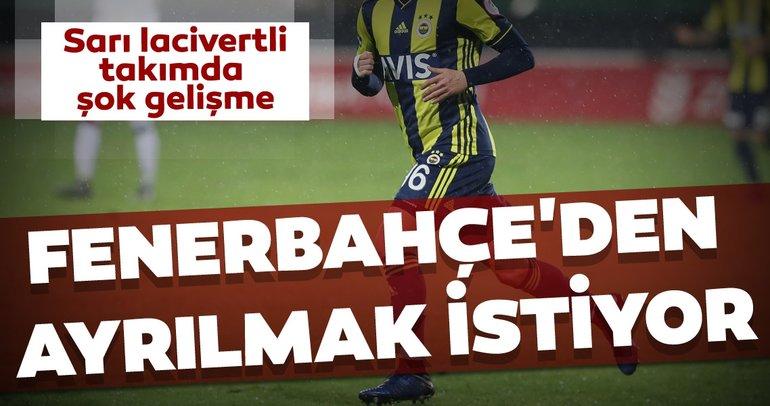 Fenerbahçe'den son dakika transferleri: Sarı lacivertli ekipten ayrılmak istiyor...