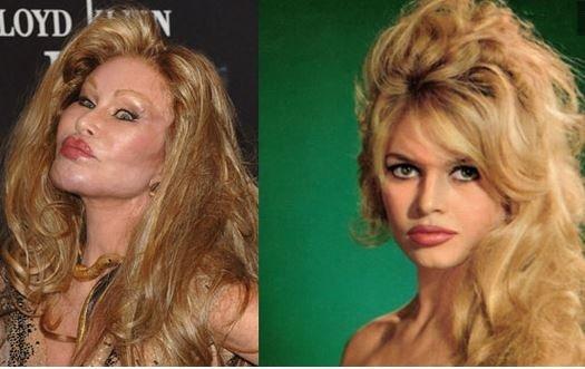 Ben Brigitte Bardot'ya benzerim!