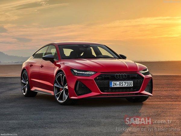 Yeni Audi RS7 Sportback ortaya çıktı! 600 beygirlik Audi RS7 Sportback hakkında her şey