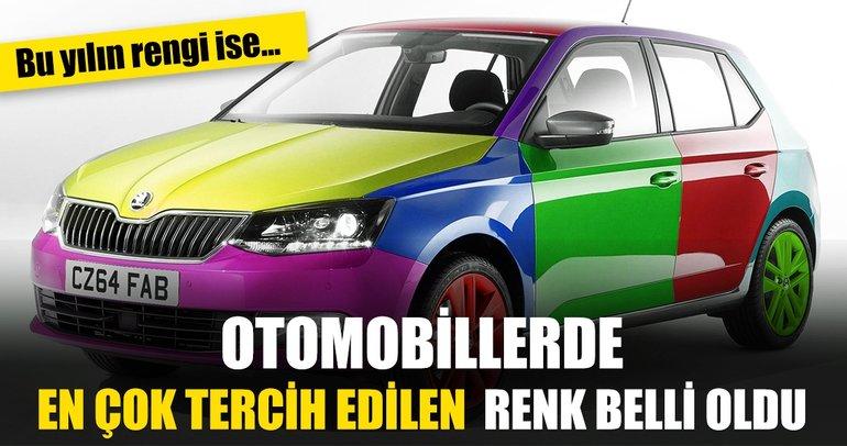 Dünyada otomobillerde en çok tercih edilen renk beyaz oldu! 'Otomotivde Renk Trendleri' raporu açıklandı
